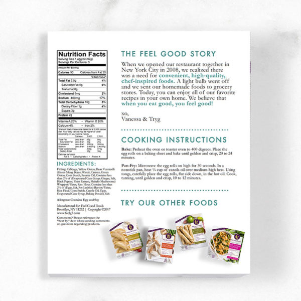 Egg Rolls - Vegetable Nutrition